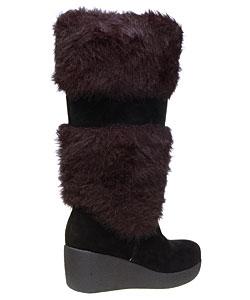 Report 'Effie' Women's Faux Fur/ Suede Boots