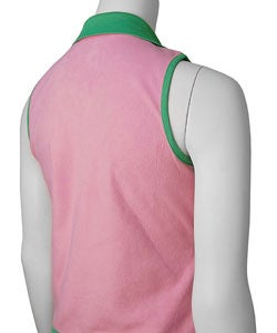 Retro Fox Polar Fleece and Satin Reversible Vest