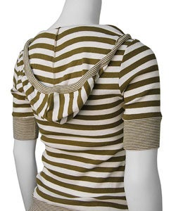 Parang Junior's Short-sleeve Striped Hoodie