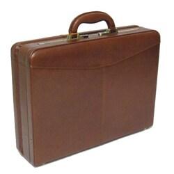 Castello Torino Expandable Leather Hard Case