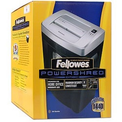 Fellowes DM8C Heavy Duty Confetti Paper Shredder
