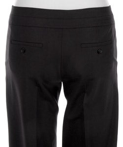 Laundry by Design Women's Navy Straight Leg Pants