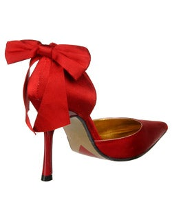 Luichiny Zeppelin Women's Pumps with Bow Detail