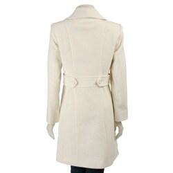 AK Anne Klein Women's Knee-length Walking Coat