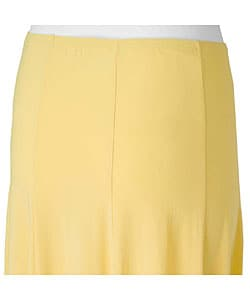 Adi Designs S. Max Women's Solid Mid-length Skirt