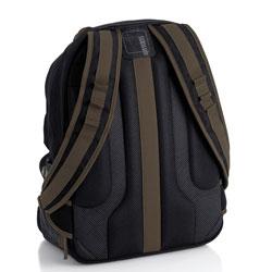 Solo Urban Long Haul Black Laptop Backback