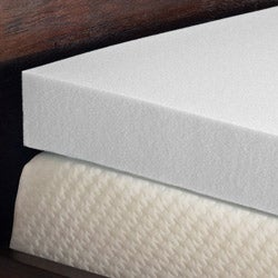 Comfort Dreams Enviro Green 4-inch Queen/ King-size Memory Foam Mattress Topper