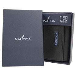 Nautica Men's Genuine Leather Key Case Wallet