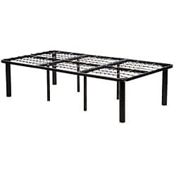 Black Steel Full-size Mattress Bed Frame