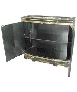 Lacquer Slant Front Cabinet (China)