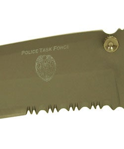 Police Task Force Tactical Knife