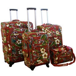 American Flyer Quattro 4-piece Euro Luggage Set