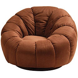 Modern Plush Swivel Lounge Chair 11448253 Overstock