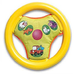 Tiny Love Wonder Wheel Farmyard Car Seat Toy