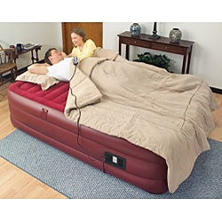 Air Cloud Raised Full-size Air Bed with Remote