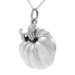 Tressa Sterling Silver Pumpkin Necklace