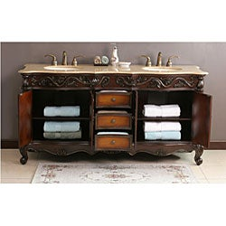 Trenton 72-inch Double Sink Bathroom Vanity