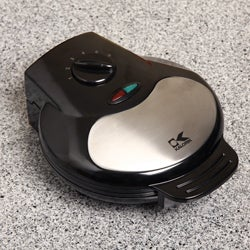 Kalorik Black Heart-shaped Waffle Maker