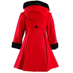 Trilogi Collection Girl's Dressy Swing Coat