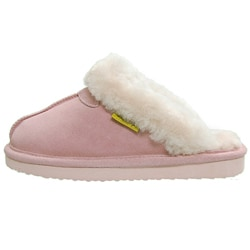 Brumby Women's Backless Sheepskin Slippers
