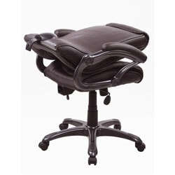 Deluxe Executive Five-star Ergonomic Brown Chair