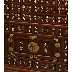 Handmade Zen Wood Medicine Chest (China)