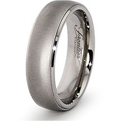 Men's Titanium Satin Finish Band (6.5 mm)
