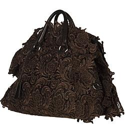Prada \u0026#39;Pizzo S\u0026#39; Bowler Bag - 12053673 - Overstock.com Shopping ...