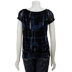 Grace Elements Women's Short-sleeve Banded Bottom Top