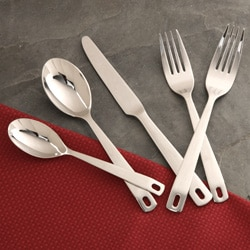 Towle Revolution 41-piece Flatware Set with Rack