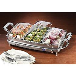 Nostalgia Electrics DBS-999 3-in-1 Deluxe Buffet Server
