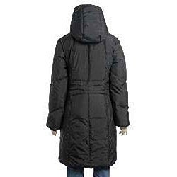Larry Levine Women's Hooded Down Coat