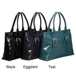 Presa 'Bloomsbury' Large Leather Tote Bag
