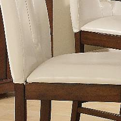 Lancaster Open Back White 24-inch Counter Stool (Set of 2)