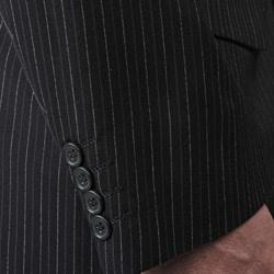 Wall Street Men's Pinstripe 3-button Suit