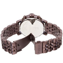 Fossil Women's Brown Stainless Steel Chronograph Dress Watch