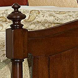 Amherst Classic Warm Brown Cherry King-size Bed