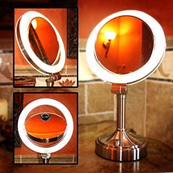 Zadro SLV410 10x/ 1x Dimmable Sunlight Makeup Vanity Mirror