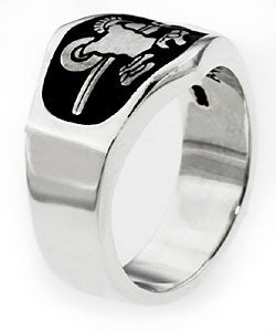 Sterling Silver 'Armor of God' Ring