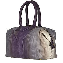 Yves Saint Laurent Small Ombre Leather Bag - 12270137 - Overstock ...