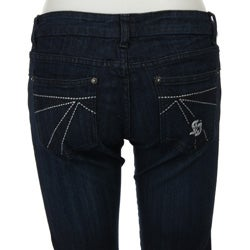 Spoon Jeans Junior's Dark Rinse Skinny Jeans