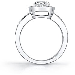 18k Gold 2ct TDW EGL Diamond Engagement Ring (H-I, SI1-SI3)