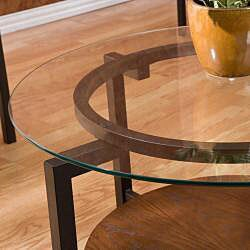 Glass Top Coffee/ End Table 3-piece Set