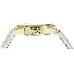 Carrera Women's Sprint White Leather Band Watch