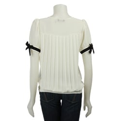 CC Couture Women's V-neck Chanel Inspired Top