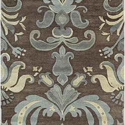 Hand-tufted Spirit New Zealand Wool Rug (5' x 8')