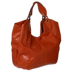 BCBG Max Azria Leather Hobo Handbag