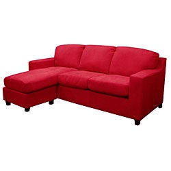 Red Anthony Sectional Sofa Overstock Shopping Big