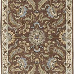 Hand-tufted Tapestry New Zealand Wool Rug (9' x 13')