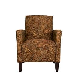 Portfolio Gia Paisley Urban Arm Accent Chair